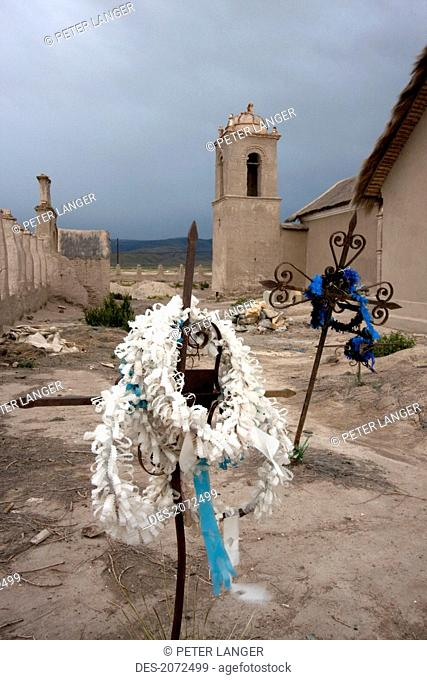 Cemetery By The Church Of Sepulturas, Oruro Department, Bolivia