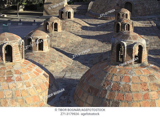 Georgia, Tbilisi, Abanotubani, baths,