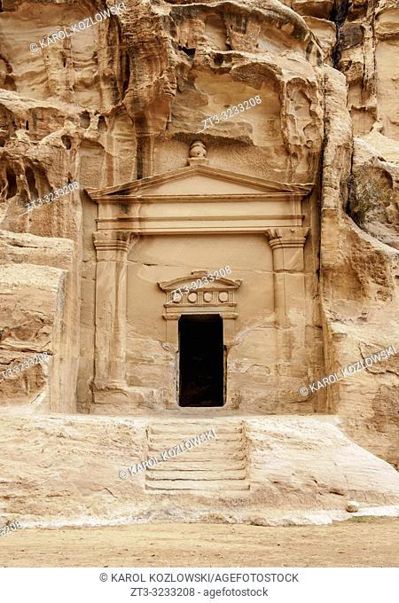 Little Petra, Siq al-Barid, Ma'an Governorate, Jordan
