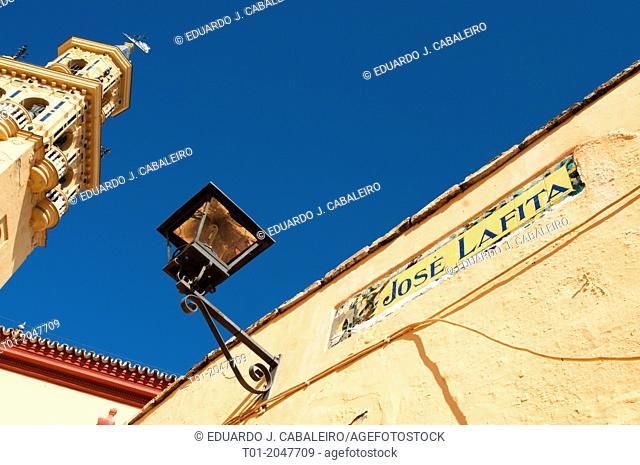Santiago Church. Alcala de Guadaira. Seville. Spain