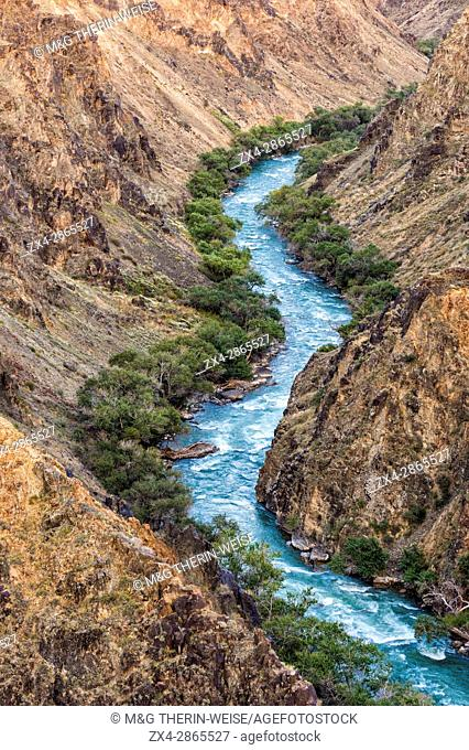 Charyn river inside the Black Canyon, Tien Shan Mountains, Kazakhstan