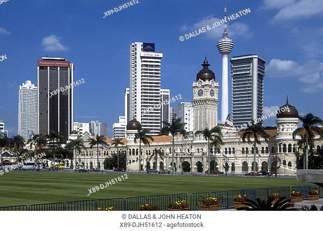 Malaysia, Kuala Lumpur, Sultan Abdul Samad Building