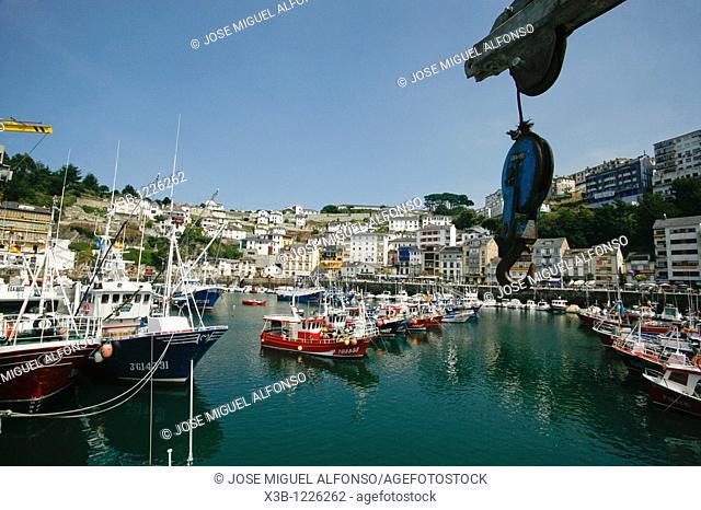 Luarca's fishing port  Luarca, Asturias, Spain