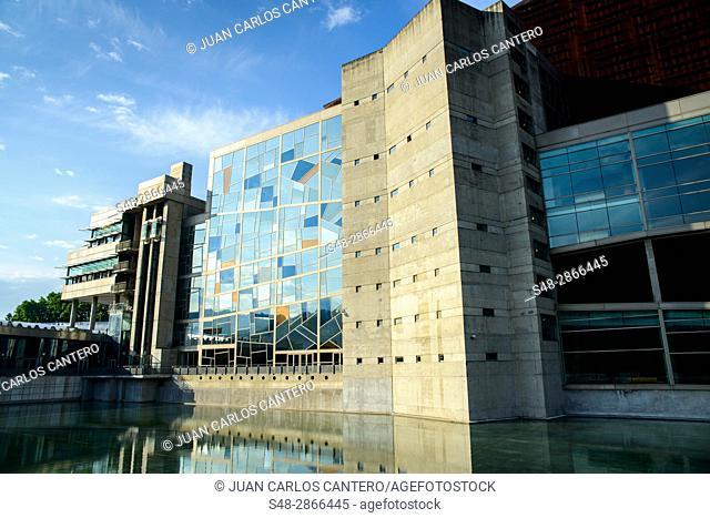 Palacio de Euskalduna. Bilbao. Vizcaya. Pais Vasco. España. Europa