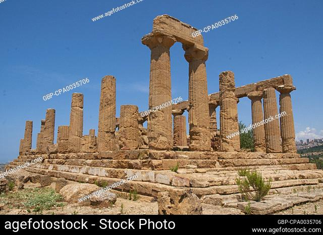 Agrigento was founded on a plateau overlooking the sea, with two nearby rivers, the Hypsas and the Akragas, and a ridge to the north offering a degree of...