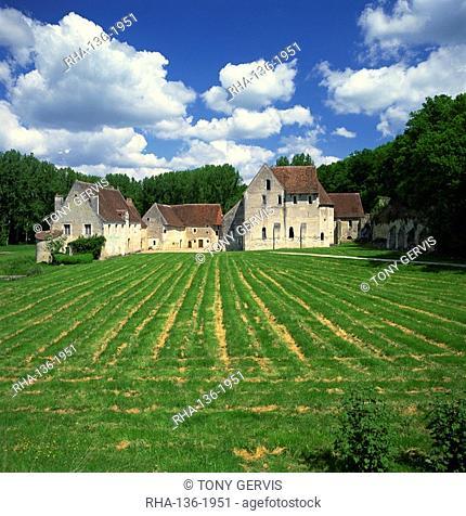 La Corroierie near Montresor, Anjou, Loire, Centre, France, Europe