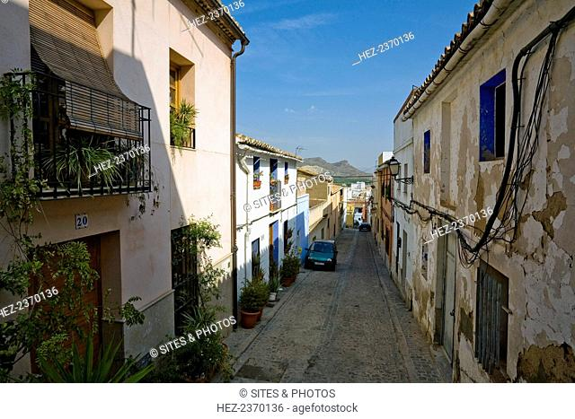 Old Jewish quarter, Sagunto, Spain, 2007. This area used to be home to Sagunto's Jewish population until they were expelled from Spain after Ferdinand and...