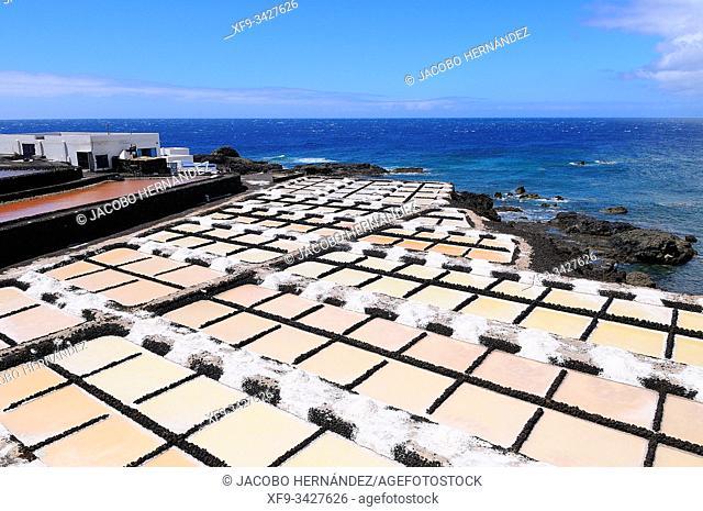 Saline. Fuencaliente. La Palma. Canary Islands. Spain