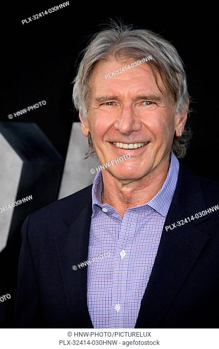 Harrison Ford 08/11/2014 The Los Angeles Premiere of The Expendables 3 held at the TCL Chinese Theatre in Hollywood, CA Photo by Izumi Hasegawa / HNW /...