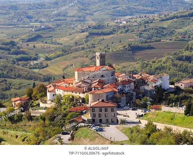 Slovenia, the Collio district,wine zone, San Martino village