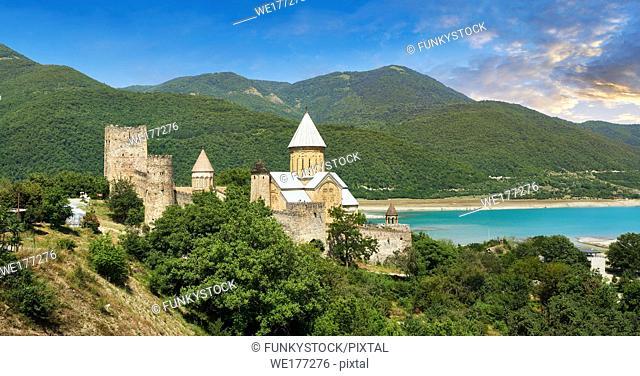 Ananuri castle complex & Georgian Orthodox churches, Georgia