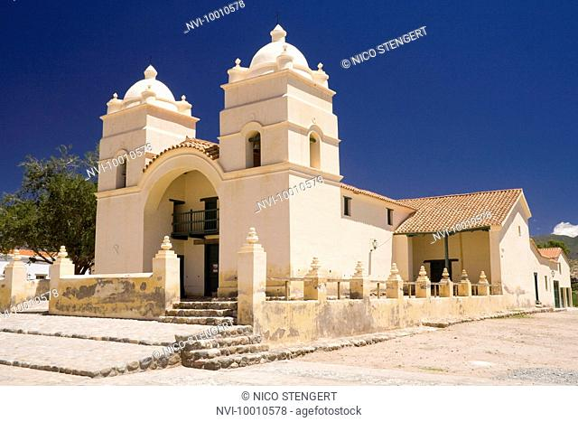 Colonial church, Molinos, Argentina, South America