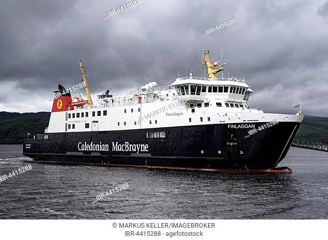The Ferry Finlaggan, Ferry between Scotland and the Isle of Islay, Tarbert, Argyll and Bute, Scotland, United Kingdom