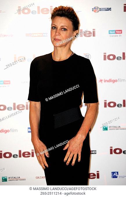 Margherita Buy;buy ; actress; celebrities; 2015; rome; italy; event; photocall ; io e lei