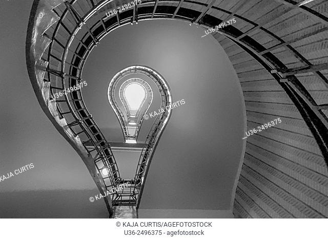 Lightbulb Stairwell