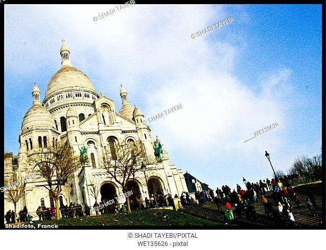 A famous church in Paris