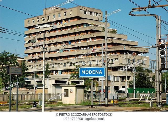 Modena, Italy: condo by the train station
