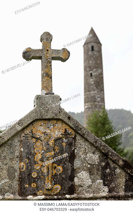 Glendalough is one of the most important monastic sites in Ireland