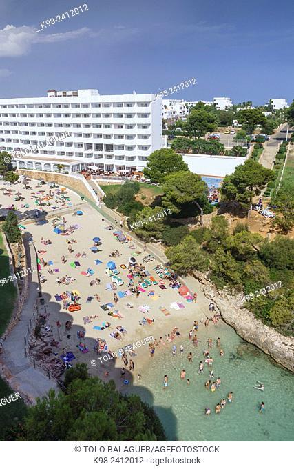 Cala Egos, Cala D'Or, municipio de Santanyi,islas baleares, Spain