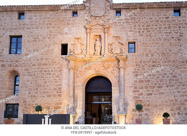 Castilla termal luxury hotel in Burgo de Osma village Soria province Castile Leon Spain on June 11, 2017