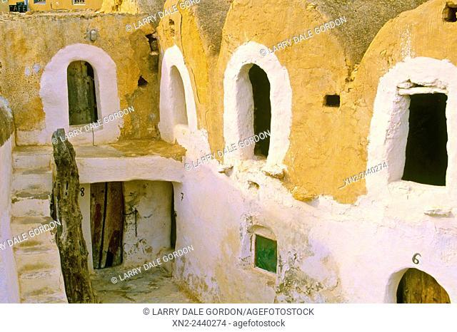 A Troglodyte Hotel. Tunisia