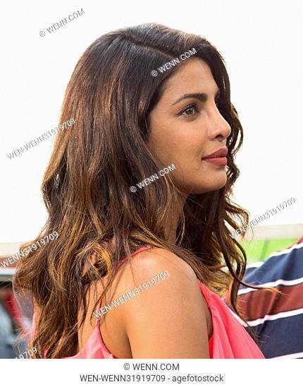 Priyanka Chopra On The Film Set Of Isn T It Romantic In New York City Featuring Priyanka Chopra Stock Photo Picture And Rights Managed Image Pic Wen Wenn31919709 Agefotostock