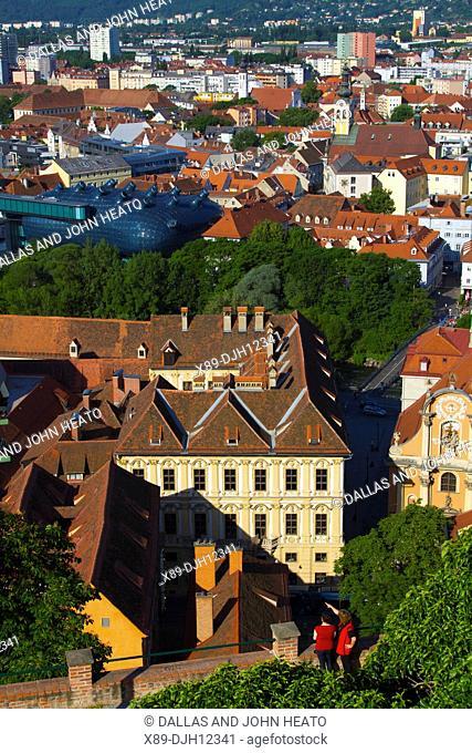 Austria, Styria, Old Town, Graz, Graz Art Museum, Museum of Contemporary Art, Kunsthaus