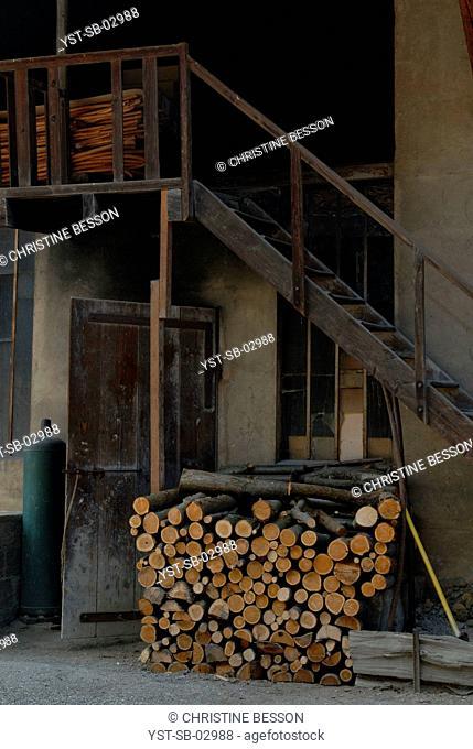 Cane factory, walking stick, L'Avant Savoyard, France