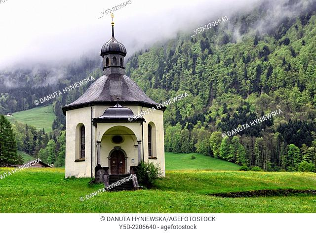Holy Cross Chapel in Grafenort, municipality of Engelberg, canton Obwalden, Switzerland