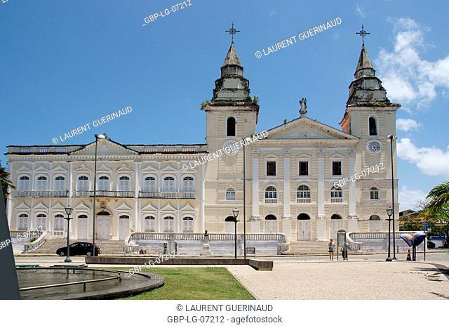 Cathedral, Mother church Cathedral, Nossa Senhora da Vitória, historical Center, City, São Luis do Maranhão, Brazil