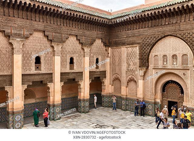 Madrasa Ben Youssef (1564), Marrakech, Morocco
