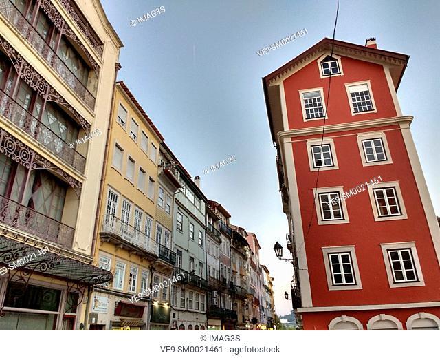Buildings at Rua Visconde da Luz, Coimbra, Portugal