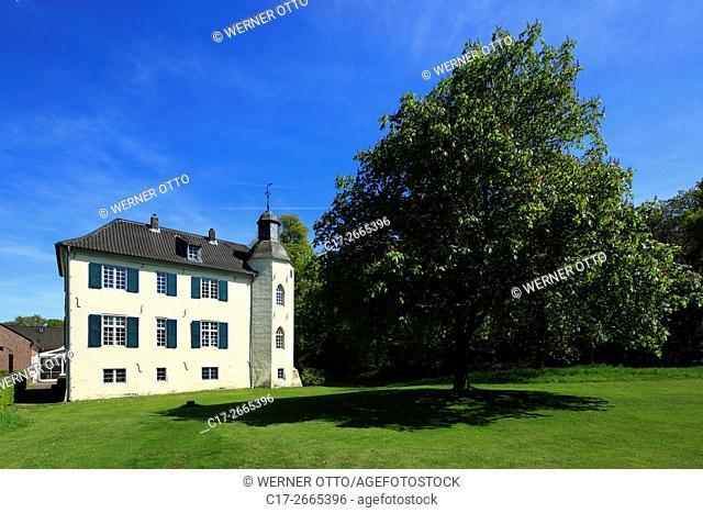 Germany, Nettetal, Maas-Schwalm-Nette Nature Park, Schwalm-Nette Nature Park, Lower Rhine, Rhineland, North Rhine-Westphalia, NRW, Nettetal-Hinsbeck, House Bey