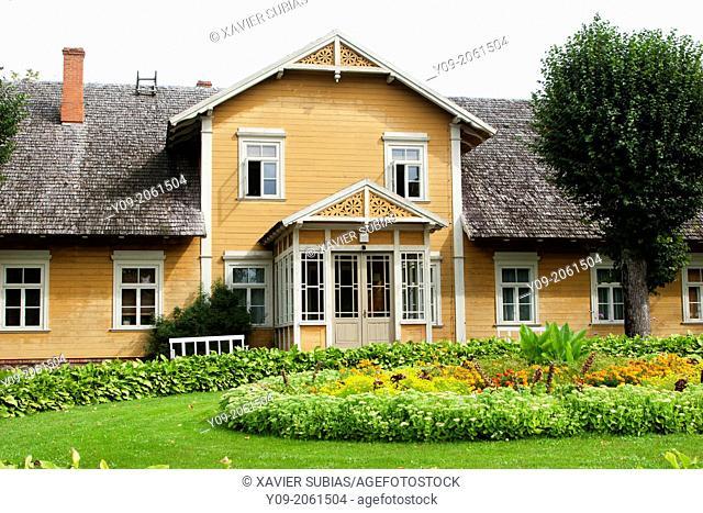 House, Turaida Museum, Turaida, Sigulda, Vidzeme, Latvia