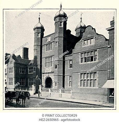 'Archbishop Abbot's Hospital, Guildford', 1903. Artist: Chester Vaughan