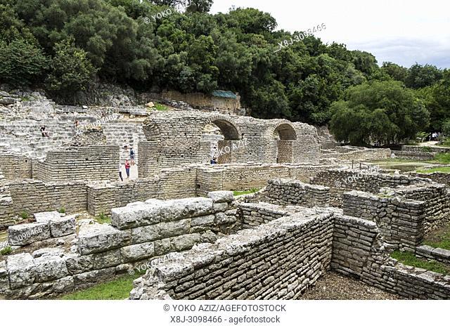Albania, Butrint archaeological site