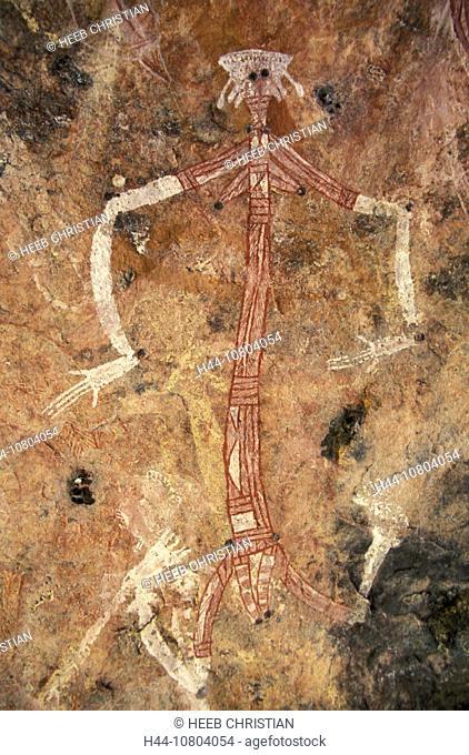 Aboriginal, Aborigines, Arnhemland, art, Australia, rock paintings, culture, historical, Max Davidson Camp, Mount Bo