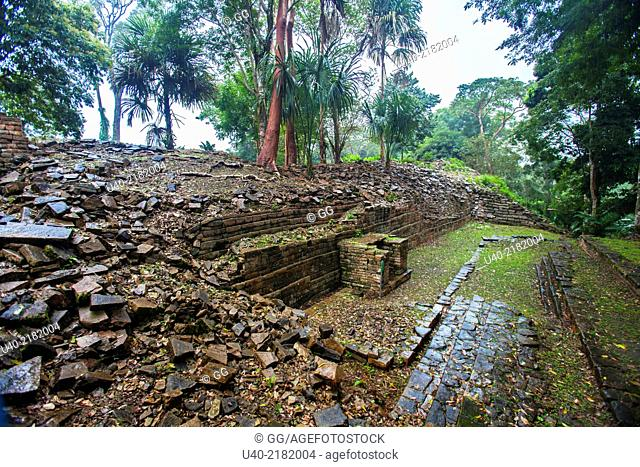 Belize, Lubaantun ruins