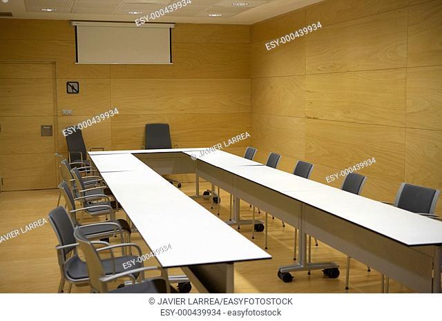 Conference room, Ficoba, Irun, Gipuzkoa, Euskadi