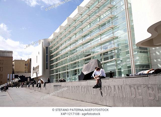 Museu d'Art Contemporani de Barcelona MACBA, Barcelona, Spain