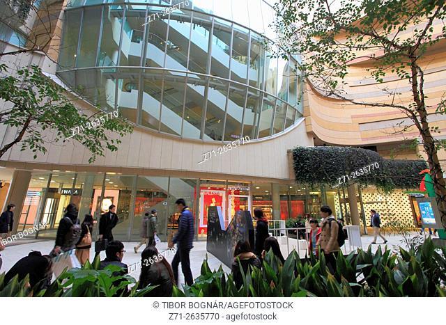 Japan, Osaka, Namba Parks, shopping, leisure, people,