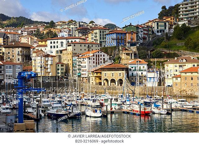 Port, Mutriku, Gipuzkoa, Basque Country, Spain, Europe