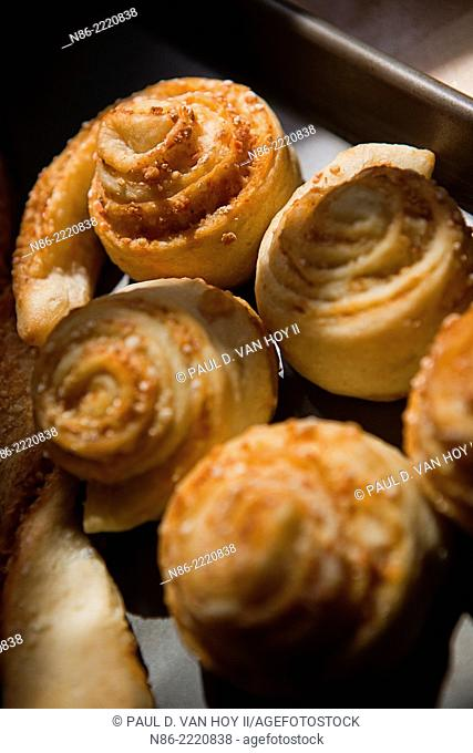 parmesan pinwheels dessert pastry