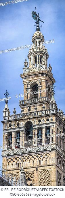 Belfry of the Giralda Tower, Seville, Spain