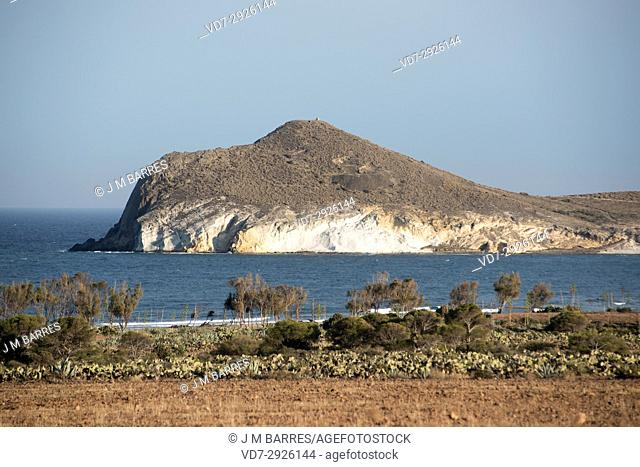 Morron de Los Genoveses. Cabo de Gata-Nijar Natural Park, Almeria province, Andalucia, Spain