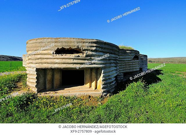 Bunker from Civil War, Campanario, Badajoz province, Extremadura, Spain
