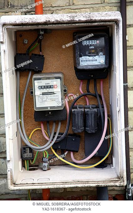 Open Electricty Meter Box