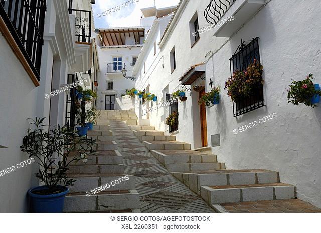 Street, Frigiliana, Spain