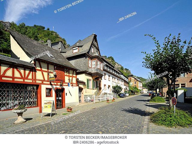 Bacharach, UNESCO World Heritage Site, Rhineland-Palatinate, Germany, Europe