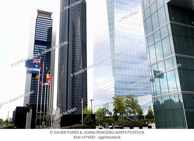 Four Towers Business area, Madrid, Spain